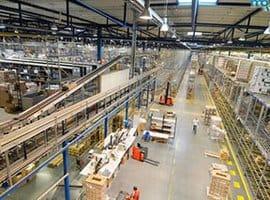 Склад производственного предприятия